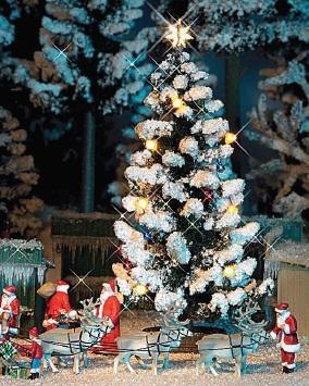 Busch H0 5411 Kerstboom Met Verlichting Eemspoor